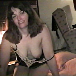 Found these photos of my ex-wife. She used to be shy but has turned into quite a slut.