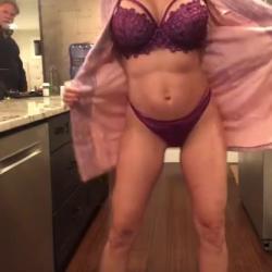 Brandi Love Homemade Kitchen Sex